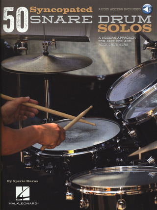 Sperie Karas: 50 Syncopated Snare Drum Solos