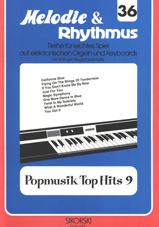 Willi Nagel: Melodie & Rhythmus, Heft 36: Popmusik Top Hits 9