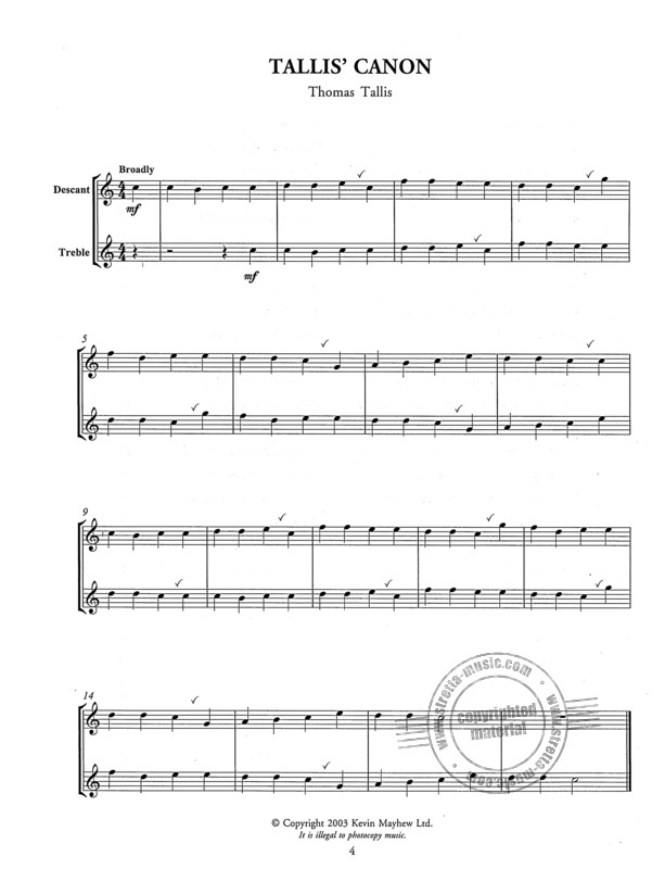 Tunes For Two - Easy To Play Duets For Descant And Treble Recorde (1)