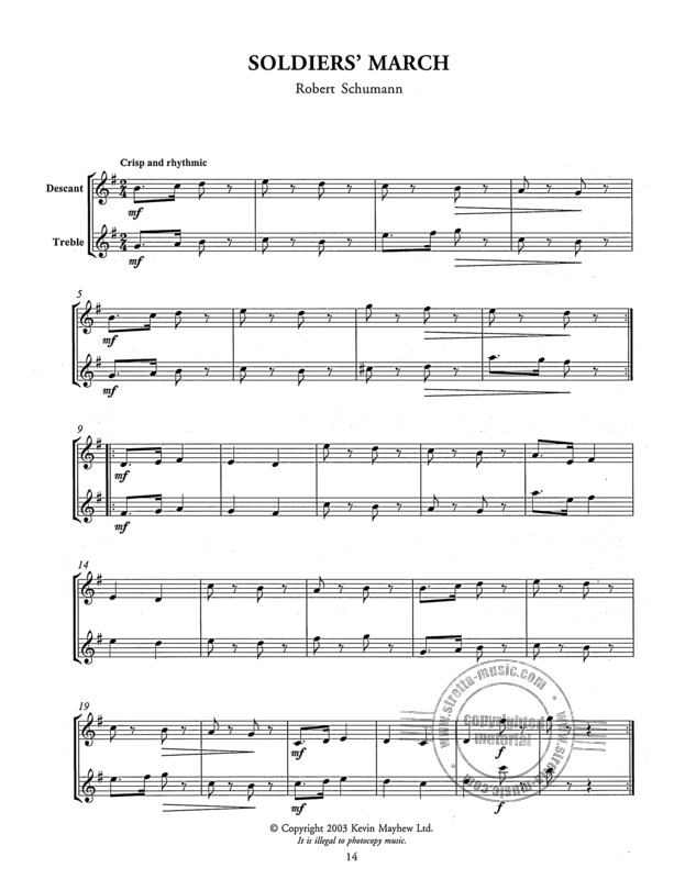 Tunes For Two - Easy To Play Duets For Descant And Treble Recorde (2)