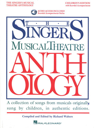Singer's Musical Theatre Anthology – Children's Edition