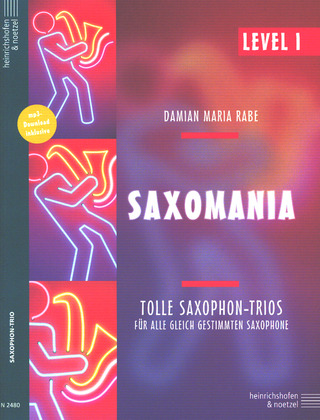 Damian Maria Rabe: Saxomania – Level 1