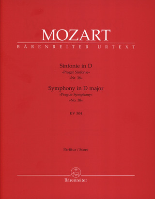 Wolfgang Amadeus Mozart: Symphony in D major KV 504