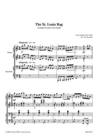 Tom Turpin: The St. Louis Rag