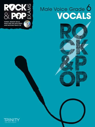 Rock & Pop Exams: Vocals Grade 6