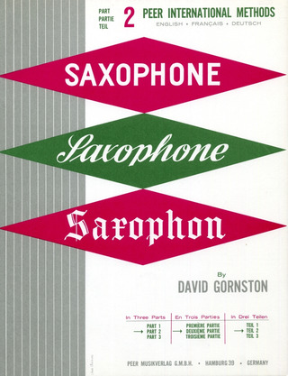 Gornston, David: Saxophonschule
