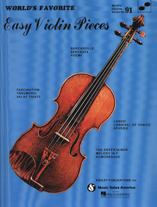 World's Favorite Easy Violin Pieces