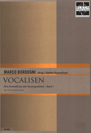 Marco Bordogni: Vocalisen 1