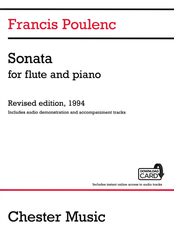 Francis Poulenc: Sonata for flute and piano (Audio Edition)