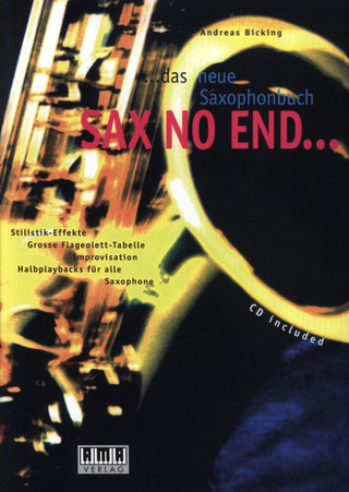 Andreas Bicking: Sax No End...