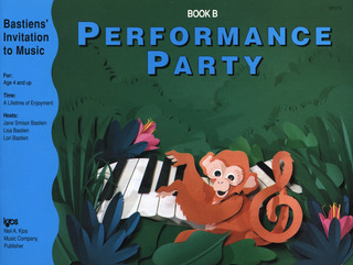 James Bastien: Bastiens' Invitation To Music - Performance Party Book B Pf