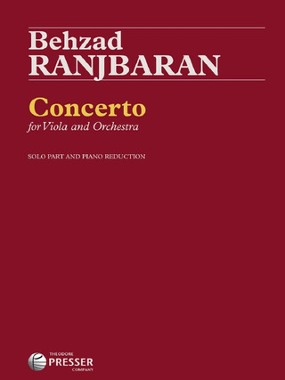 Behzad Ranjbaran: Concerto for Viola and Orchestra