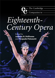 Anthony R. Del Donna et al.: Cambridge Companion to Eighteenth-Century Opera