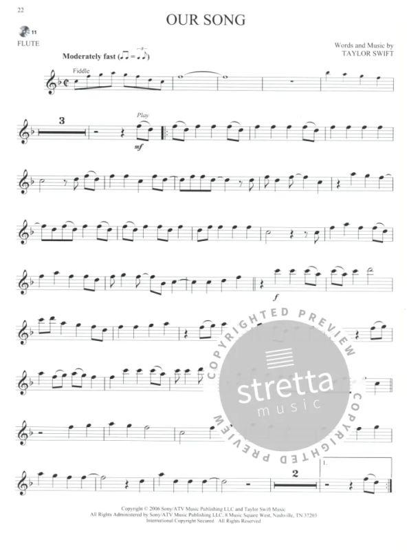 Women of Pop – Flute | buy now in Stretta sheet music shop.