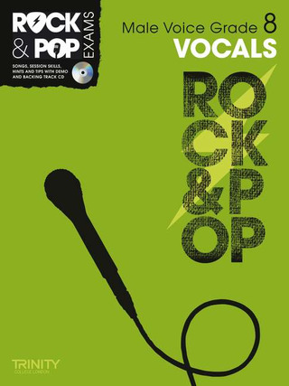 Rock & Pop Exams: Vocals Grade 8
