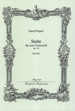 David Popper: Suite op. 16