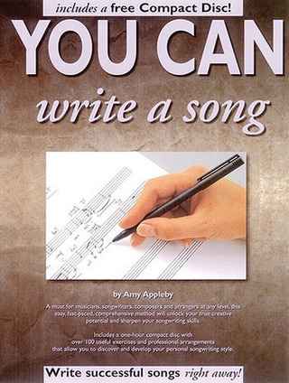 Amy Appleby: You can write a song
