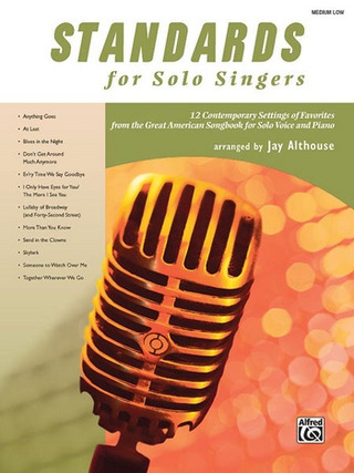 Standards For Solo Singers - Medium Low