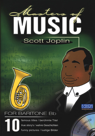Scott Joplin: Masters Of Music - Scott Joplin/Bariton Bb, Horn