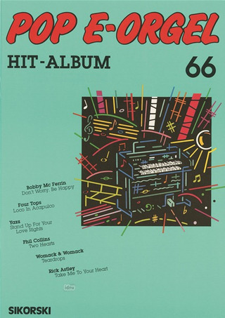 Pop E-Orgel Hit-Album 66
