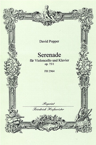David Popper: Serenade  G-Dur op. 75/1