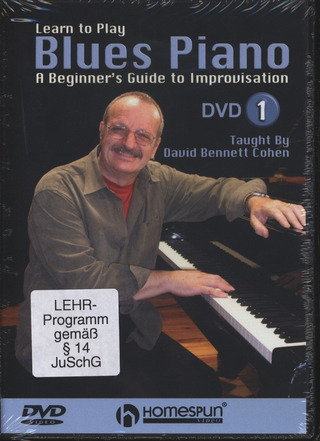 David Bennett Cohen: Learn to Play Blues Piano 1