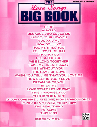 The Love Songs Big Book