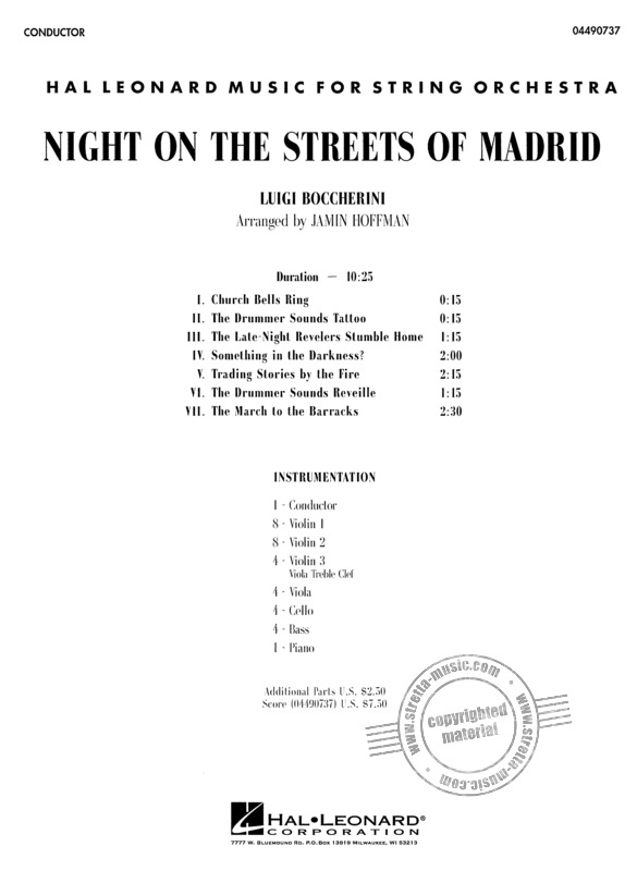 Luigi Boccherini: Night On The Streets Of Madrid (1)