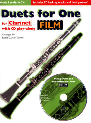 Duets For One Film Tunes Clarinet Book/Cd