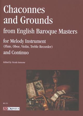Gottfried Finger m fl.: Chaconnes and Grounds from English Baroque Masters