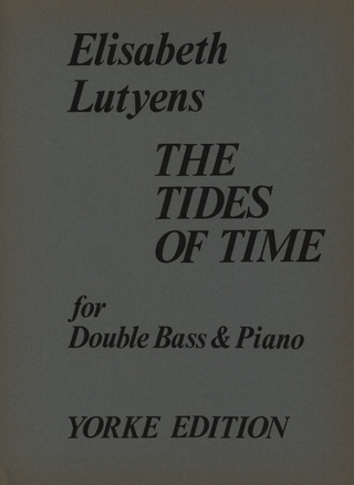 Lutjens Elisabeth / Lutyens: The Tides Of Time