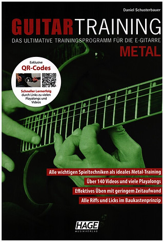 Daniel Schusterbauer: Guitar Training Metal