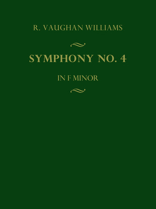 Ralph Vaughan Williams: Symphony No. 4 in f Minor