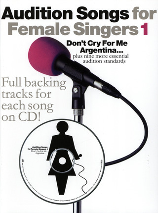 Audition Songs For Female Singers 1 Pvg Book/Cd