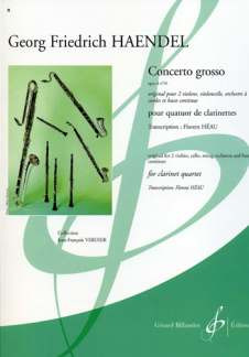 George Frideric Handel: Concerto Grosso D-Moll Op 6/4