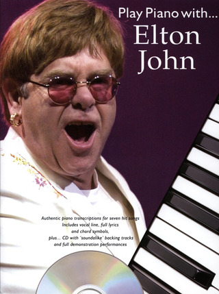 Elton John: Play Piano With Elton John Pvg Bk/Cd
