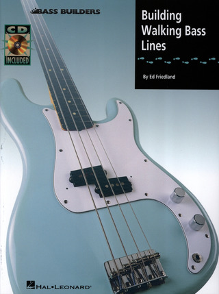 Ed Friedland: Building Walking Bass Lines Book/Cd