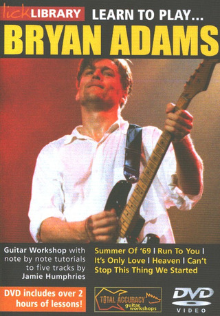 Bryan Adams: Lick Library: Learn To Play Bryan Adams Gtr Dvd(0)