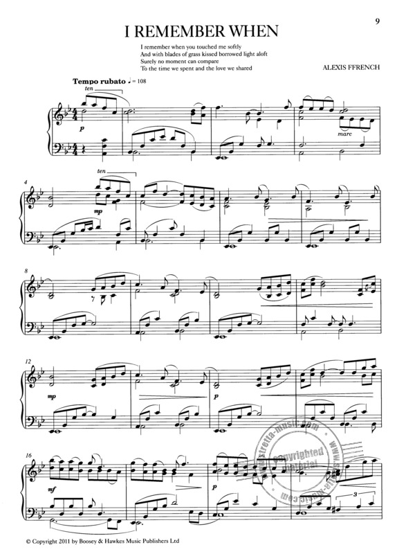 Alexis Ffrench Sheet Music Downloads at Musicnotes.com