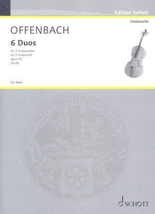 Jacques Offenbach: 6 Duos op. 49