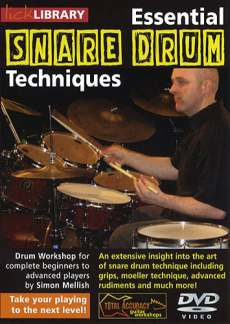 Mellish Simon: Lick Library: Essential Snare Drum Techniques Drums Dvd(0)