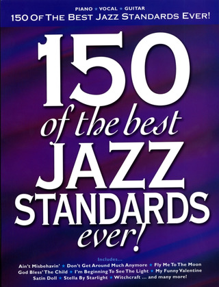 150 Of The Best Jazz Standards Ever Pvg Book