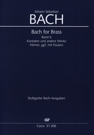 Johann Sebastian Bach: Bach for Brass 6