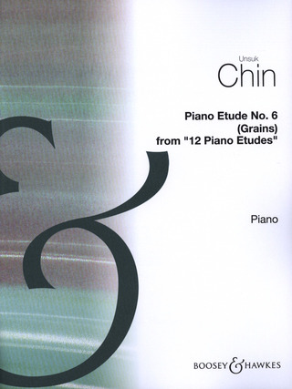 "Unsuk Chin: Piano Etude Nr. 6 ""Grains"""