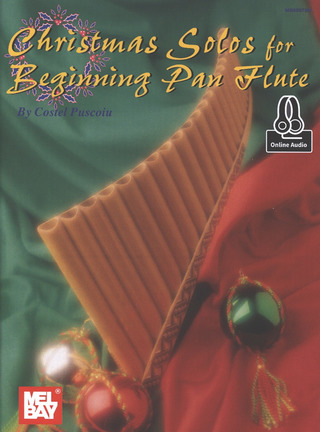 Costel Puscoiu: Christmas Solos For Beginning Pan Flute