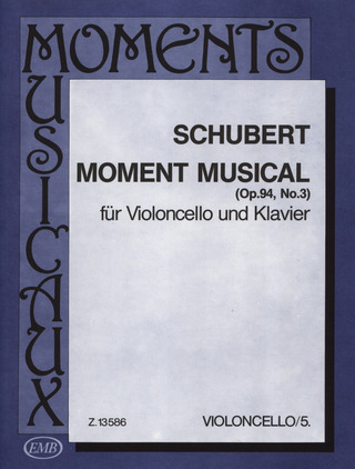 Franz Schubert: Moment Musical Op. 94/3