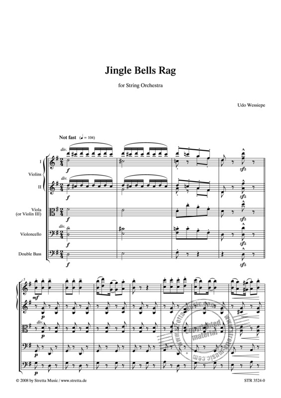 Udo Wessiepe: Jingle Bells Rag