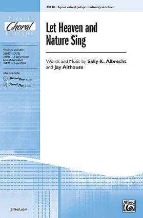 Sally K. Albrecht: Let Heaven And Nature Sing