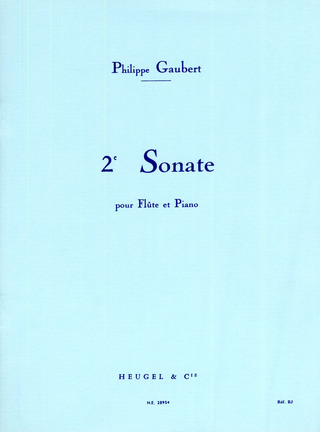 Philippe Gaubert: Sonate Nr. 2