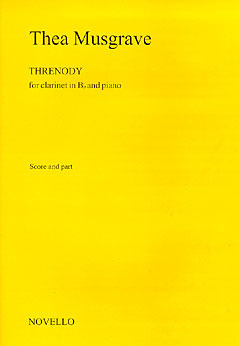 Thea Musgrave: Musgrave Threnody Clarinet/Piano